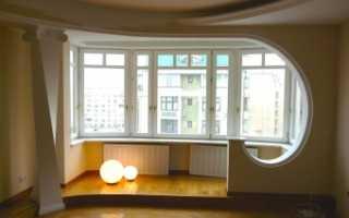 Объединение балкона или лоджии с комнатой – правила и нюансы