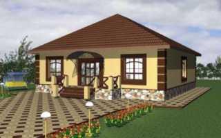 Придомовая территория частного дома сколько метров