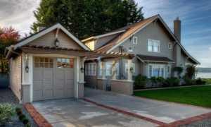 Минимальное расстояние между жилым домом и гаражом