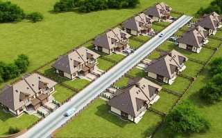 Минимальное расстояние между жилыми домами в городе – нормы